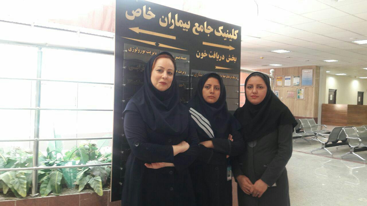 بازدید مدیر شورای عالی بیماران خاص از کلینیک جامع بیماران خاص کرمانشاه