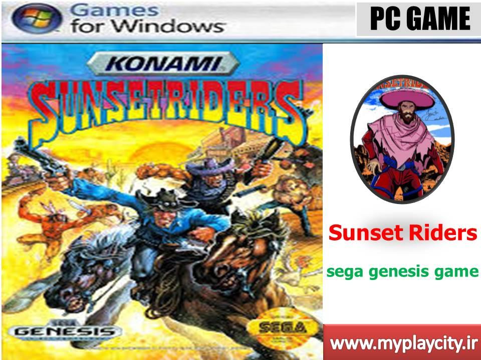دانلود بازی sunset riders برای کامپیوتر