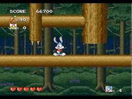 Tiny Toon Adventures genesis game