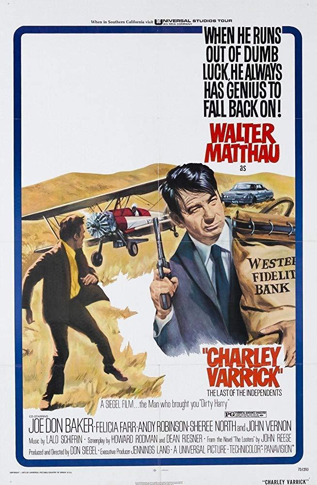 دانلود دوبله فارسی فیلم چارلی وریک را بکشید Charley Varrick 1973