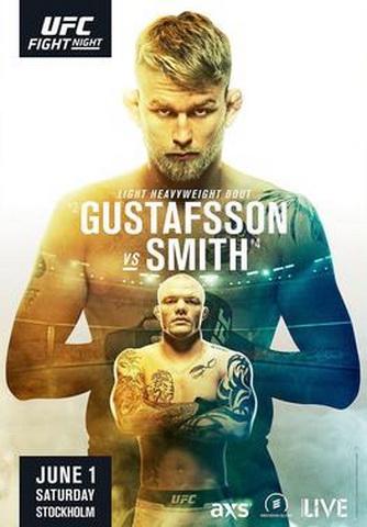 دانلود یو اف سی فایت نایت 153: UFC Fight Night 153: Gustafsson vs. Smith