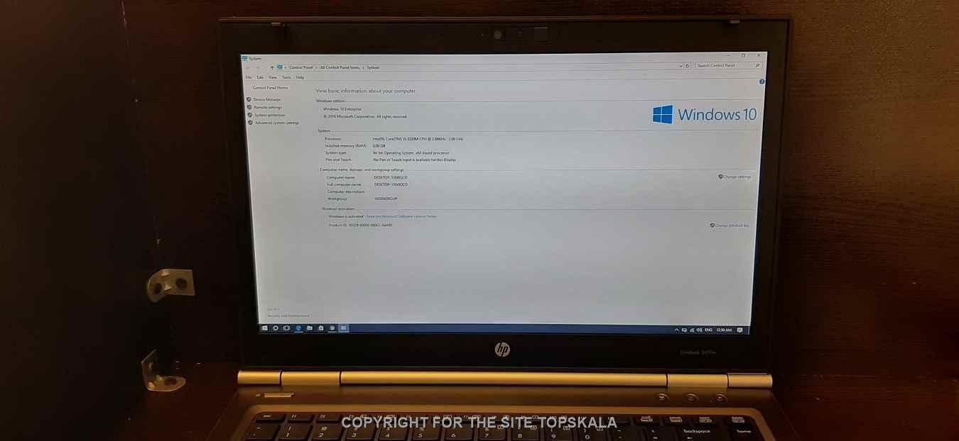 لپ تاپ استوک دل مدل HP WORKSTATION 8470W با مشخصات i5-8GB-500GB-HDD-2GB-AMD-Radeon-7600