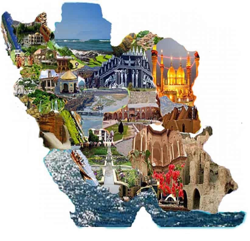 فهرست ۱۰۲ مکان تاریخی و گردشگری ایران