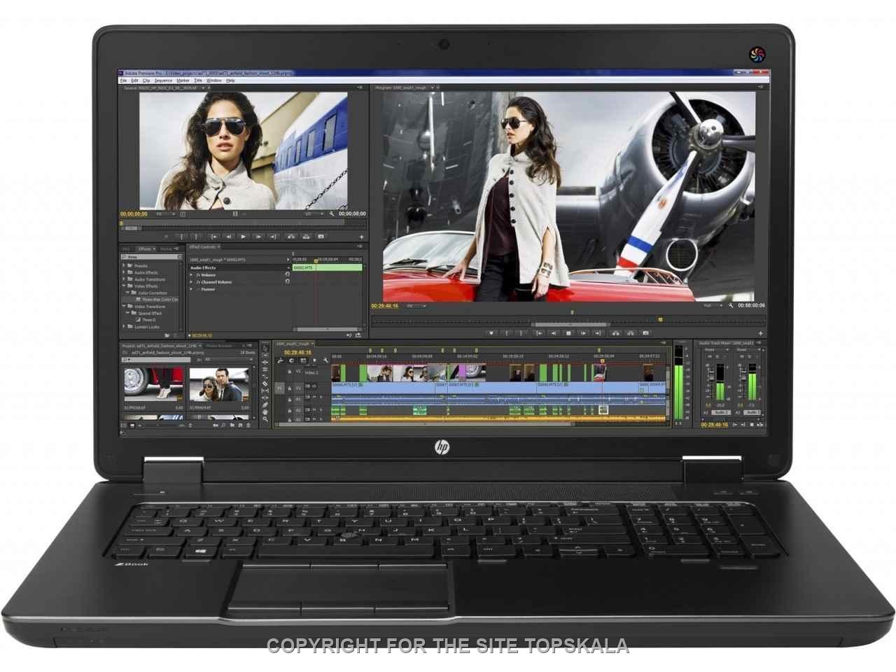 اچ پی / لپ تاپ استوک اچ پی مدل HP ZBOOK 17 G2 - i5 4340M