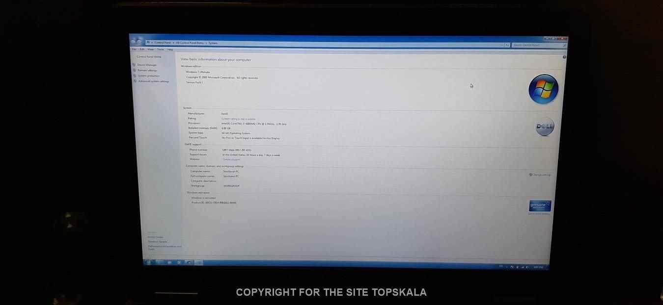 لپ تاپ استوک دل مدل E6540 با مشخصات i7-8GB-180GB SSD-2GB AMD Radeon 8790