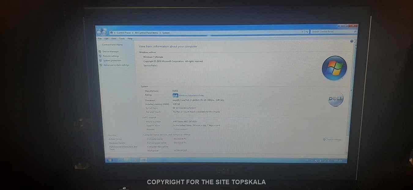 لپ تاپ استوک دل مدل DELL Vostro 3550 با مشخصات i7-8GB-1TB-HDD-2GB-intel-HD