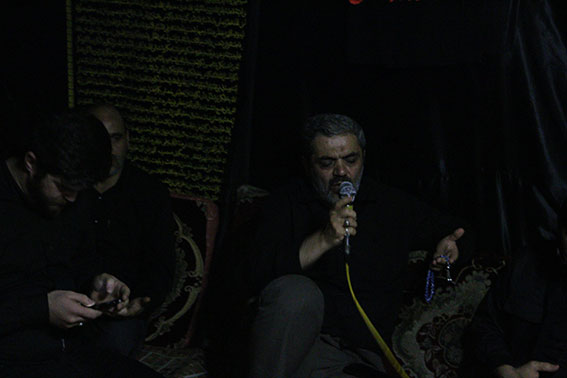 ایراد دعاهای پایانی توسط استاد گلیان در مراسم ششمین سالگرد شهیددولت آبادی