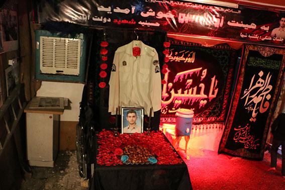 حسینیه شهیددولت آبادی در مراسم ششمین سالگرد شهادت شهیددولت آبادی