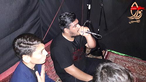 ایراد ذکر توسط کربلائی میلاد جمشیدی در مراسم هفتمین سالگرد شهید دولت آبادی