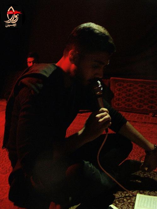 قرائت زیارت عاشورا توسط کربلائی مجتبی حق منش در هفتمین سالگردشهیددولت آبادی