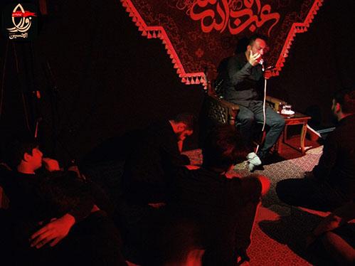 مداحی در مراسم هفتمین سالگرد شهادت شهید محمد علی دولت آبادی