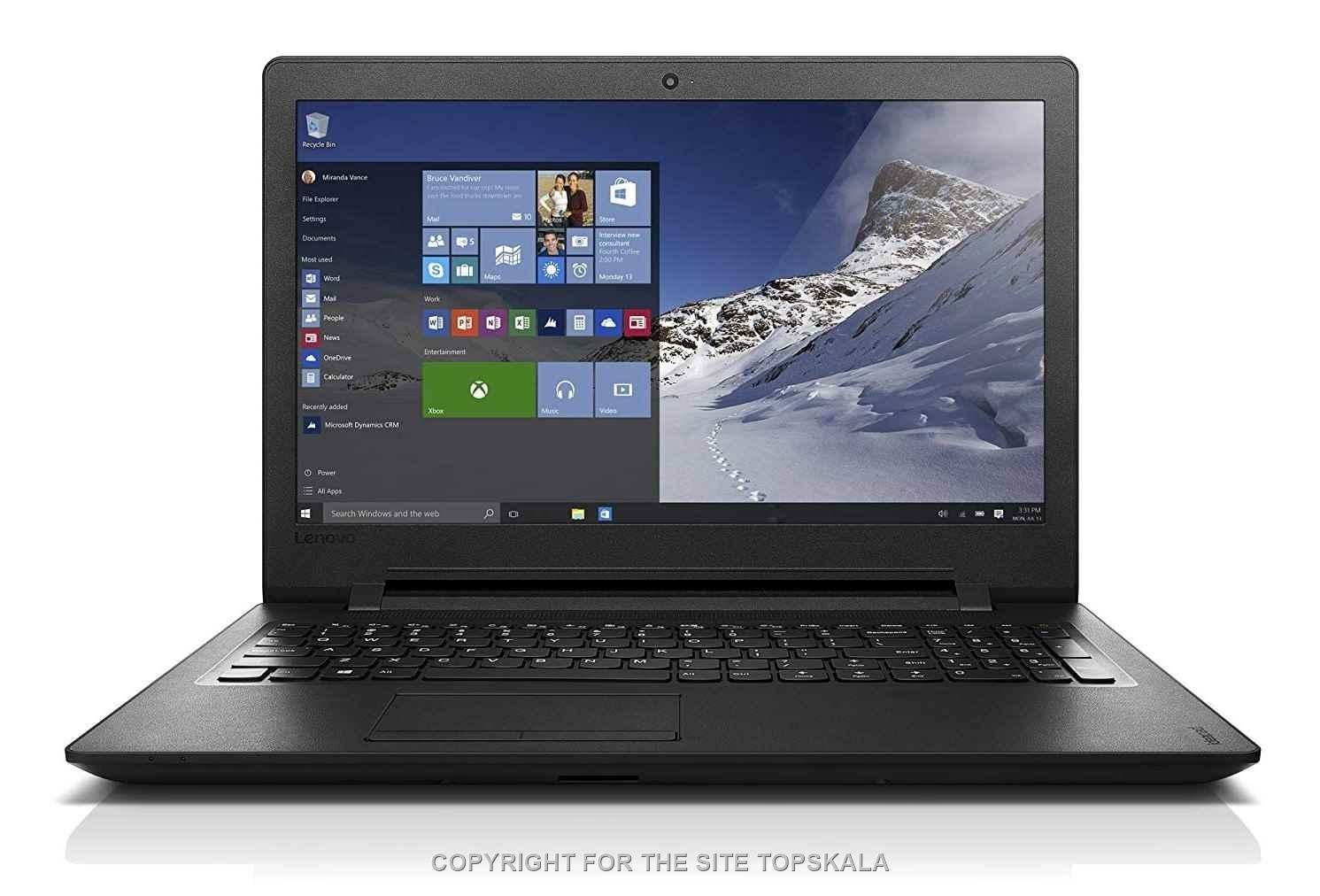 لنوو / لپ تاپ استوک لنوو مدل lenovo ideapad 110