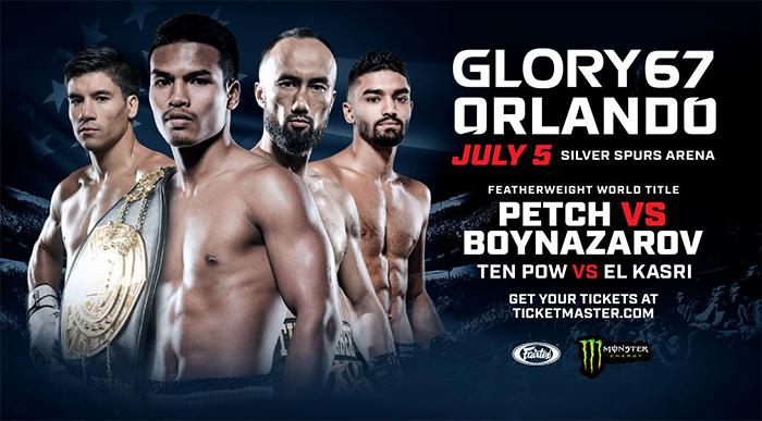 دانلود مبارزات کیک بوکسینگ |Glory 67: Orlando