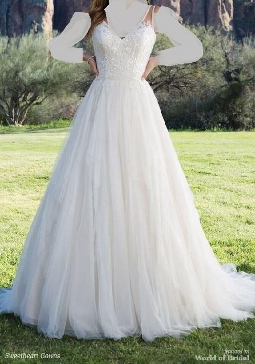 [تصویر: آلبوم عکس لباس عروس بند دار(قوانین جدید برای گذاشتن عکس در پست اول)]