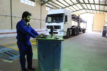 افزایش چهار درصدی مراجعه به مراکز فنی خودروهای سنگین استان گیلان