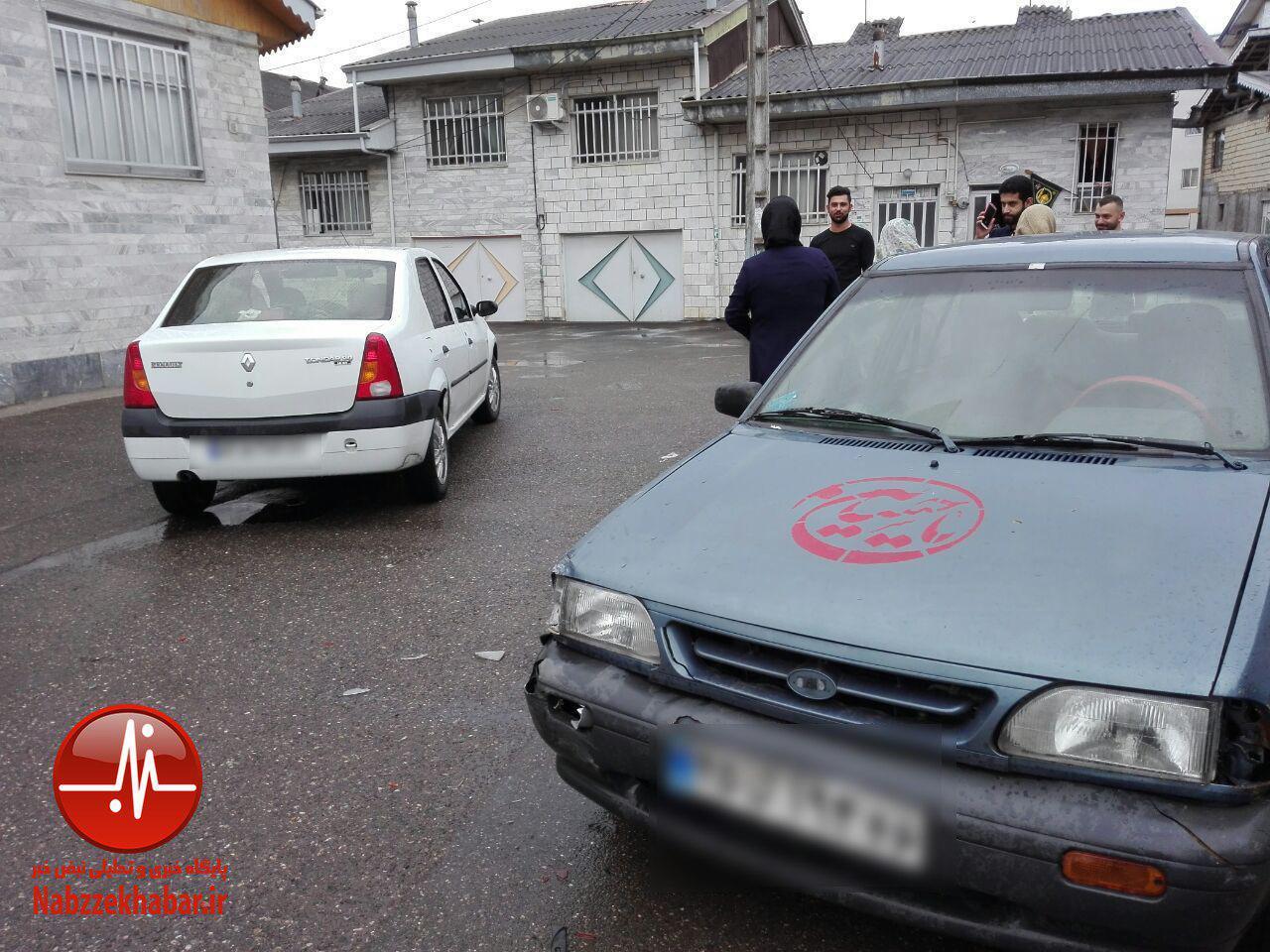 بی توجهی راهنمایی و رانندگی به درخواست شهروندان حادثه آفرید