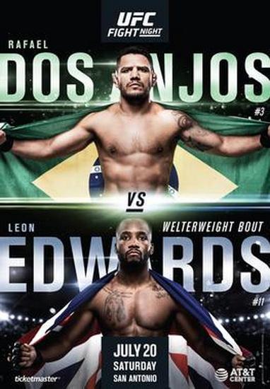 دانلود رویداد یو اف سی : UFC on ESPN 4 : dos Anjos vs. Edwards