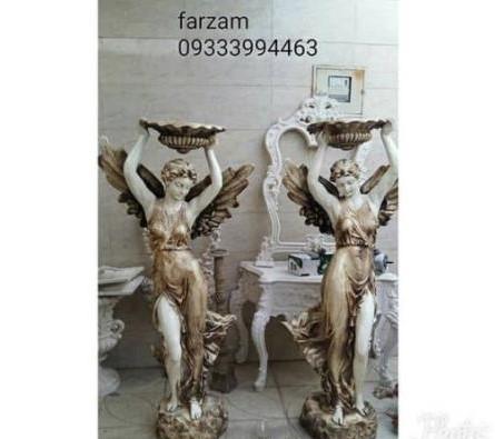 مجسمه پلی استر | آبنما فایبرگلاس | فروش مجسمه