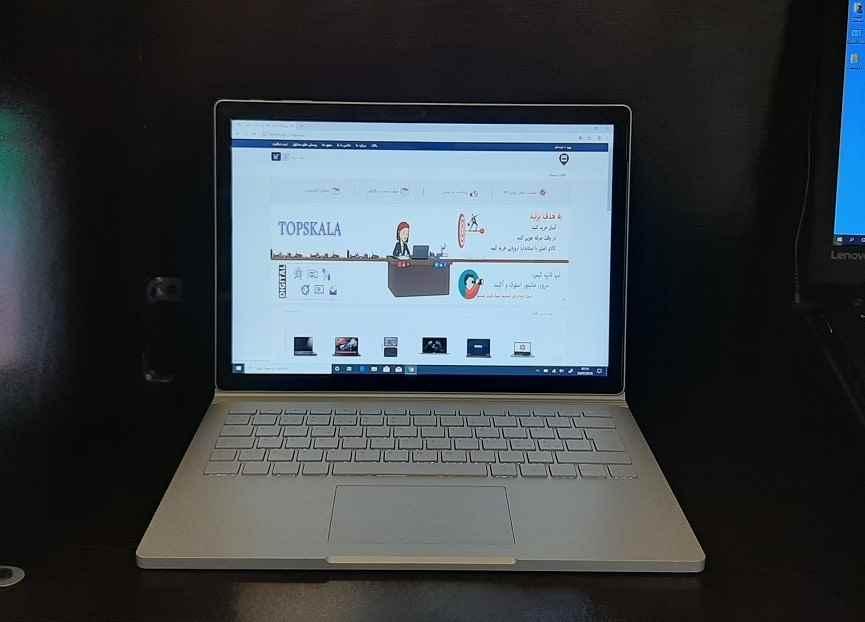 لپ تاپ سورفیس استوک مایکروسافت مدل Microsoft Surface Book 2 با مشخصات i7-8gen-8GB-256GB-SSD-2GB-nVidia-GTX-1050