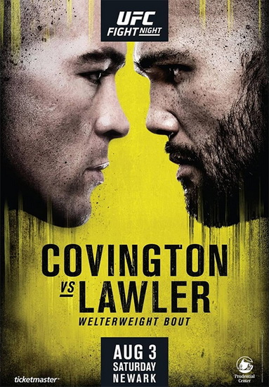 نتایج رویداد :  UFC on ESPN: Covington vs. Lawler