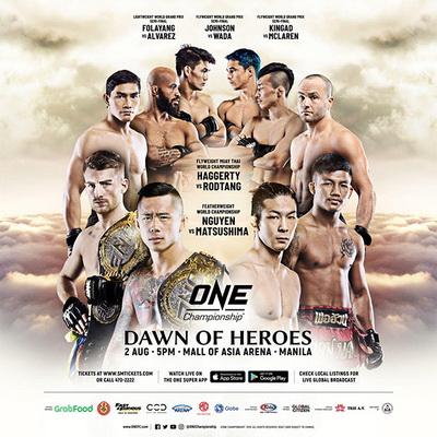 دانلود مسابقات وان سی | ONE Championship 97 - Dawn Of Heroes
