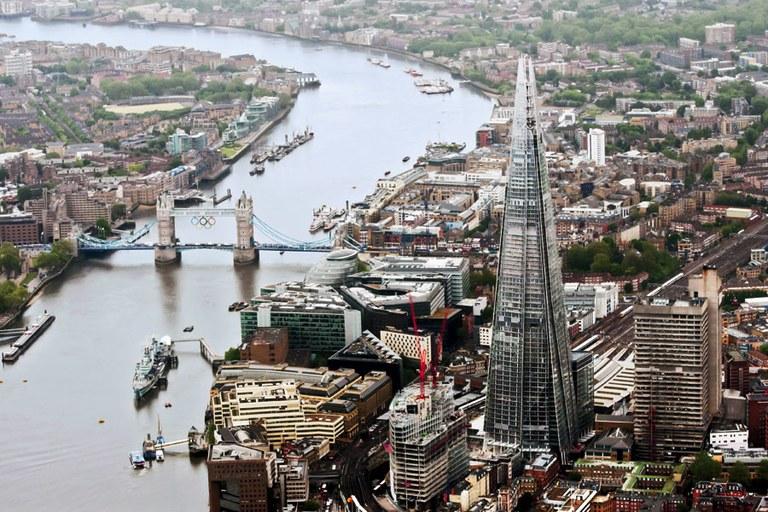 آثار برجسته معماری - برج شارد در لندن
