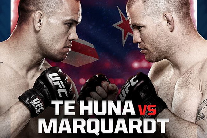 دانلود یو اف سی فایت نایت 43 |UFC Fight Night 43 : Te Huna vs Marquardt-نسخه 720P